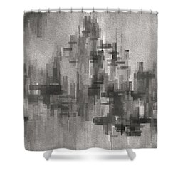 Cityscape 3 Shower Curtain by Jack Zulli