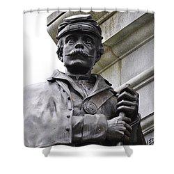 Civil War Memorial Shower Curtain