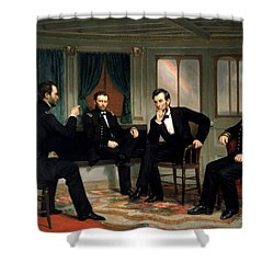 Civil War Union Leaders -- The Peacemakers Shower Curtain