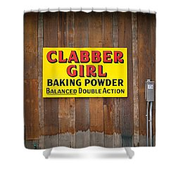 Clabber Girl Shower Curtain