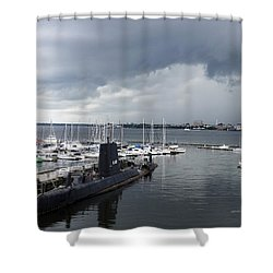 Uss Clamagore 343  #2 Shower Curtain