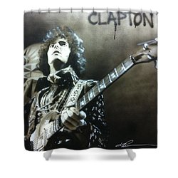 Clapton Shower Curtain