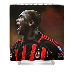 Clarence Seedorf Shower Curtain by Paul Meijering