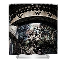 Clarity Of War IIi Shower Curtain by Lesa Fine