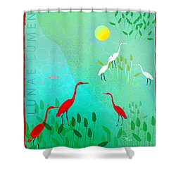 Claro De Luna II - Limited Edition Of 15 Shower Curtain