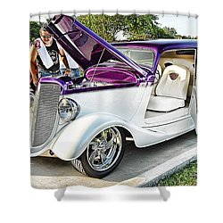 Shower Curtain featuring the photograph Classic Auto   by Dyle   Warren