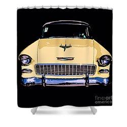 Classic Chevy Pop Art Shower Curtain by Edward Fielding