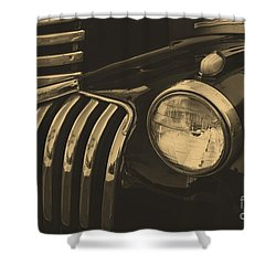 Shower Curtain featuring the photograph Classic Chevy One by John S
