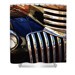 Shower Curtain featuring the photograph Classic Chevy Two by John S