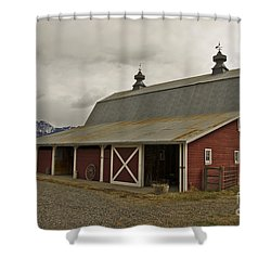 Classic Colorado Country  Shower Curtain