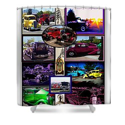 Shower Curtain featuring the photograph Classic Cruisers by Bobbee Rickard