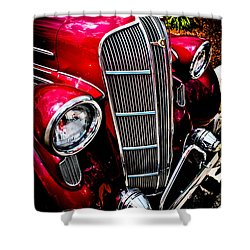 Shower Curtain featuring the photograph Classic Dodge Brothers Sedan by Joann Copeland-Paul