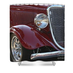 Classic Ford Car Shower Curtain