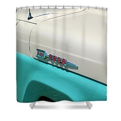 Classic Ford Shower Curtain