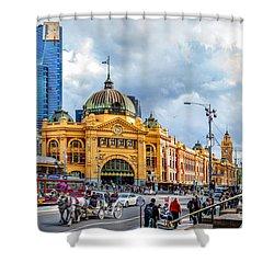 Classic Melbourne Shower Curtain
