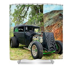 Shower Curtain featuring the photograph Classic Rod by Liane Wright