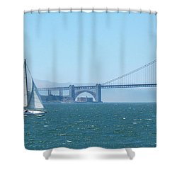 Classic San Francisco Bay Shower Curtain