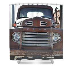 Classic Truck  Shower Curtain