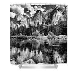 Classic Yosemite Shower Curtain by Cat Connor