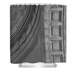 Classical Dome And Vault Detail Shower Curtain by Lynn Palmer