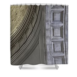 Classical Dome And Vault Details Shower Curtain by Lynn Palmer