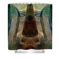 Classified Shower Curtain by WB Johnston