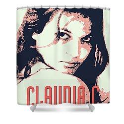 Claudia C Shower Curtain by Chungkong Art