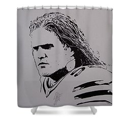 Clay Shower Curtain