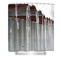 Shower Curtain featuring the photograph Clear As Glass by Tiffany Erdman