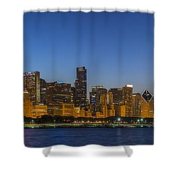 Clear Blue Sky Shower Curtain by Sebastian Musial