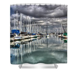 Clearing Storm Shower Curtain by Heidi Smith