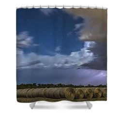Shower Curtain featuring the photograph Clearing Storm by Rob Graham