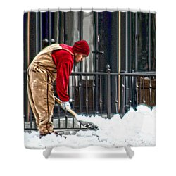 Clearing The Path Shower Curtain
