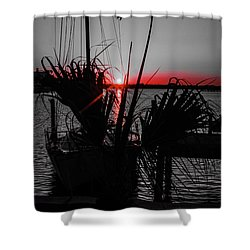 Clearwater Sunrise Shower Curtain