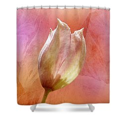 Clematis Opening Shower Curtain