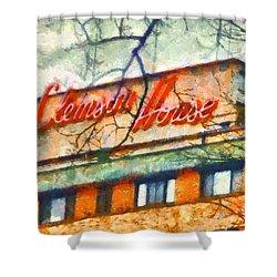 Clemson House Shower Curtain