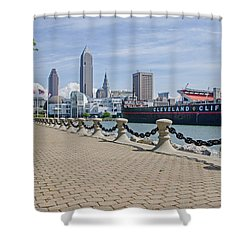 Cleveland Lake Front Shower Curtain