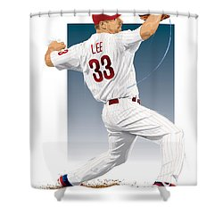 Cliff Lee Shower Curtain