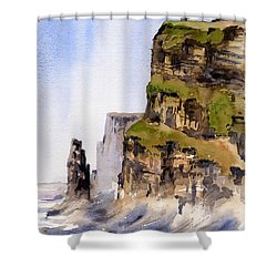 Clare   The Cliffs Of Moher   Shower Curtain