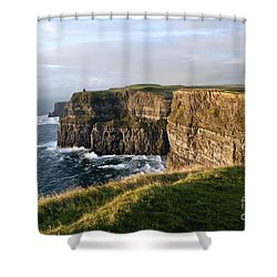 Cliffs Of Moher Evening Light Shower Curtain