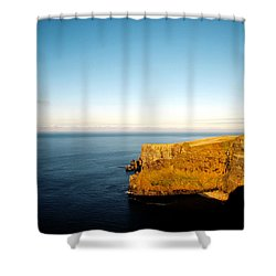 Clifs Of Moher In Ireland Shower Curtain
