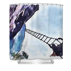 Climb Shower Curtain