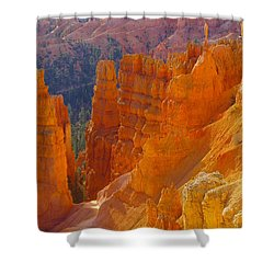 climbing out of the Canyon Shower Curtain