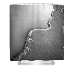 Clinch River Shower Curtain by Melinda Fawver