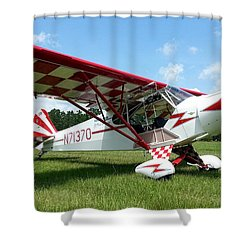 Clipped Wing Cub Shower Curtain by Matt Abrams