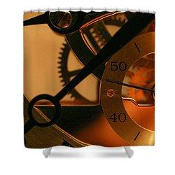 Clockwork Shower Curtain