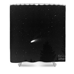 Shower Curtain featuring the photograph Close Encounter 2 by Nick  Boren