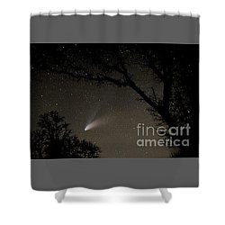 Shower Curtain featuring the photograph Close Encounter by Nick  Boren
