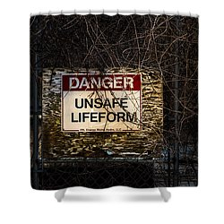 Close Enough For Me Shower Curtain by Bob Orsillo