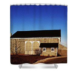 Shower Curtain featuring the photograph Closed For The Day by Tina M Wenger